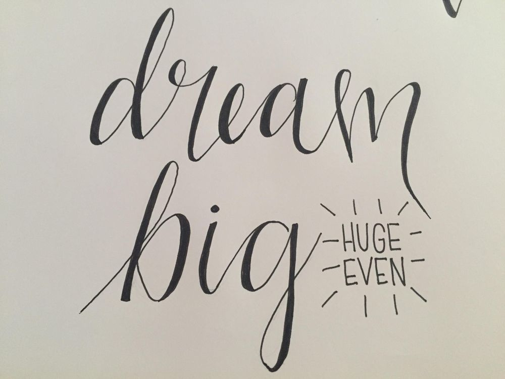 Dream Big - image 1 - student project