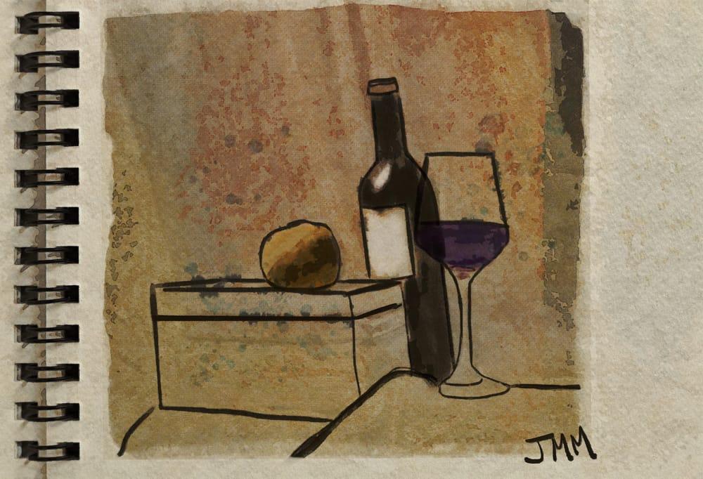 Orange and Wine - image 1 - student project