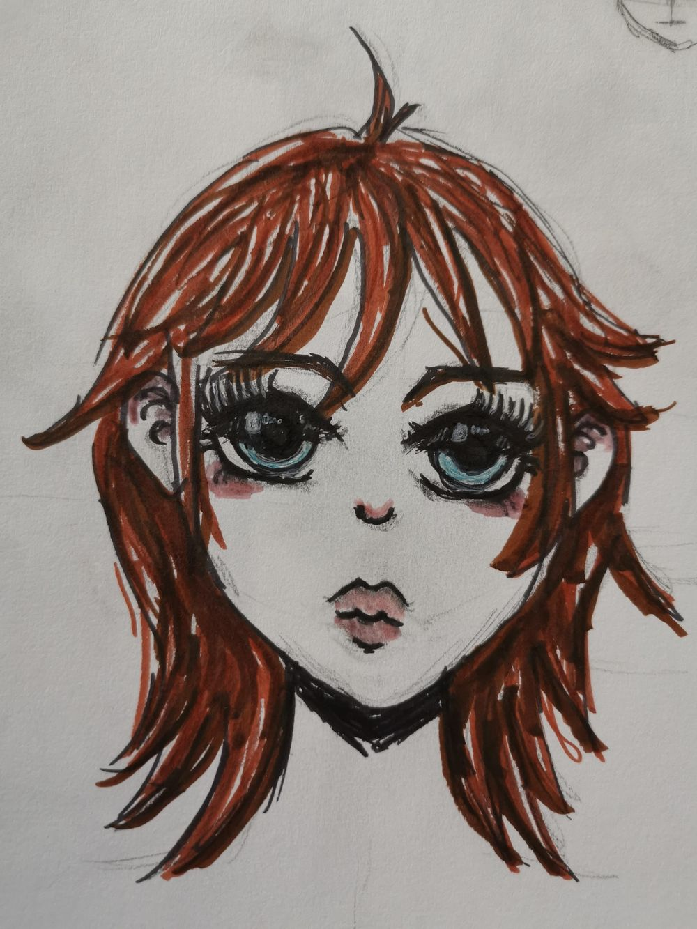 First Manga Face - image 1 - student project