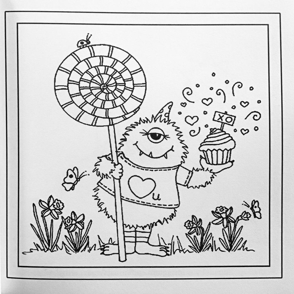 Nina May - my first coloring book - image 3 - student project