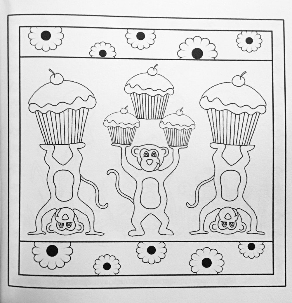 Nina May - my first coloring book - image 4 - student project