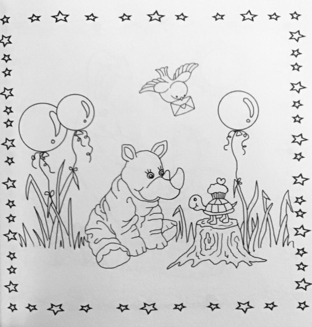 Nina May - my first coloring book - image 2 - student project