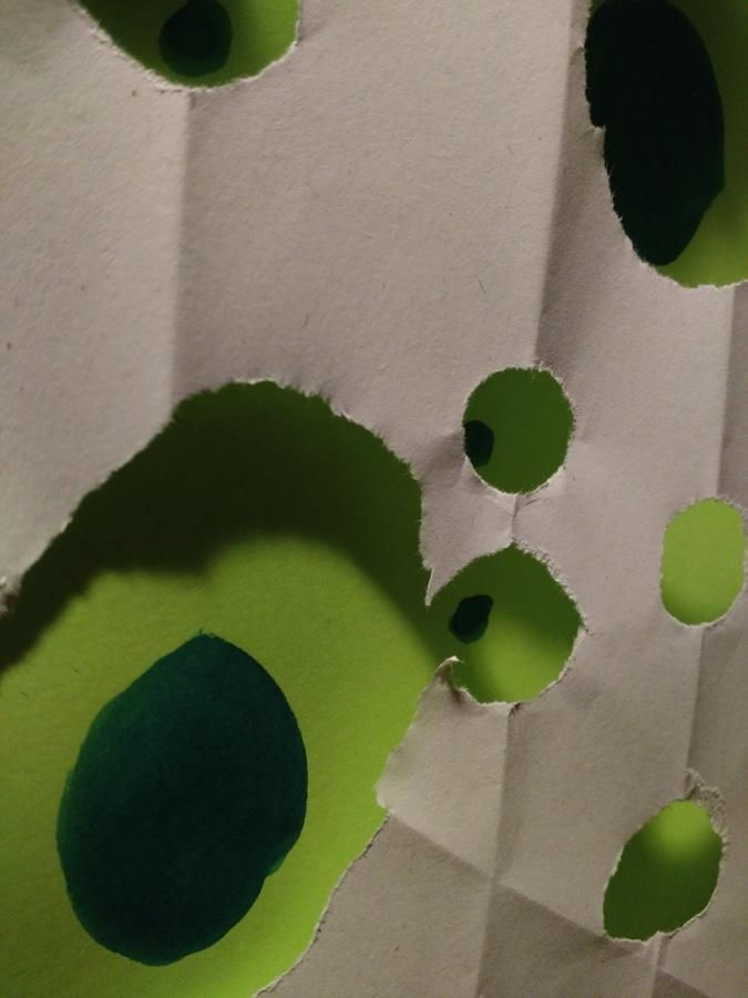 Paper dots - image 2 - student project