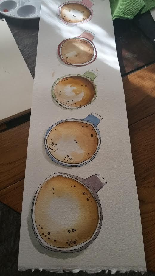 Latte and lots of coffee! - image 2 - student project