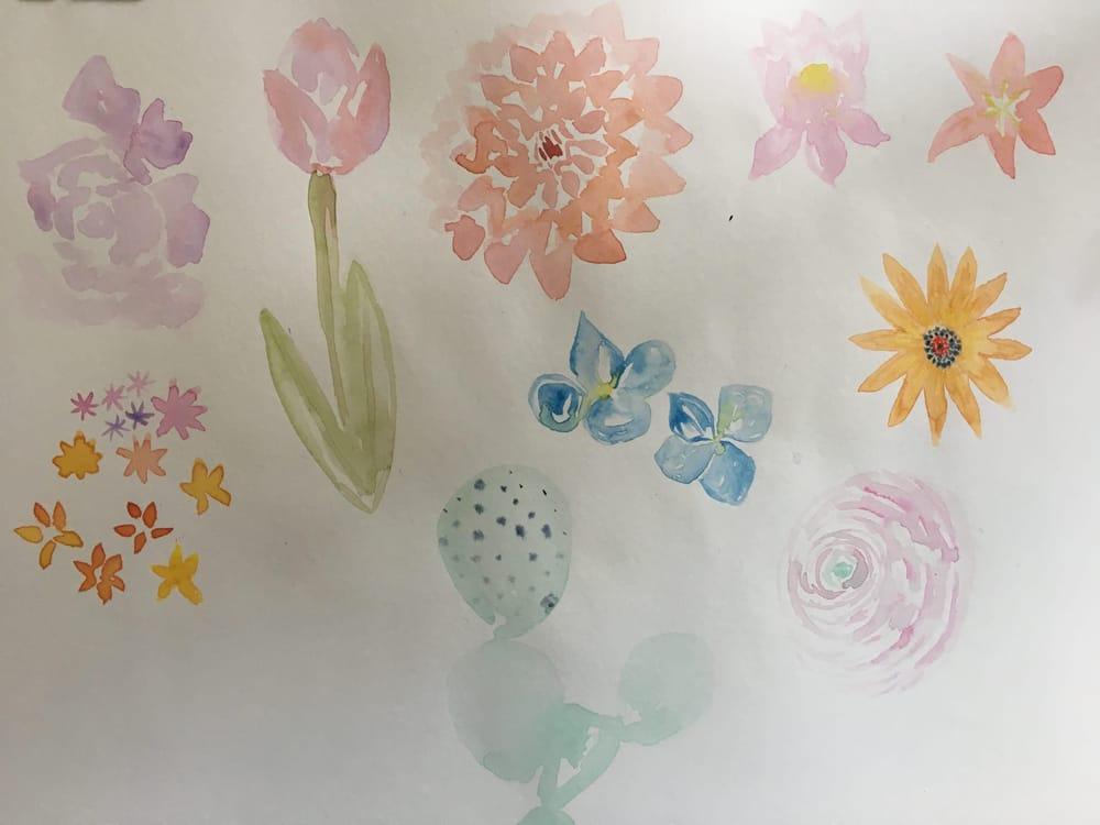 Florals Practice - image 1 - student project
