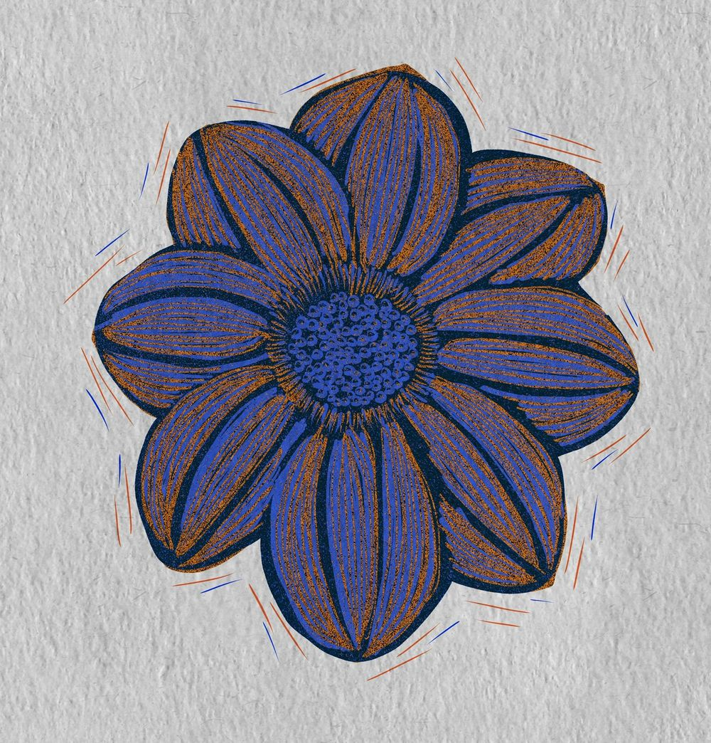 Print Flower - image 1 - student project
