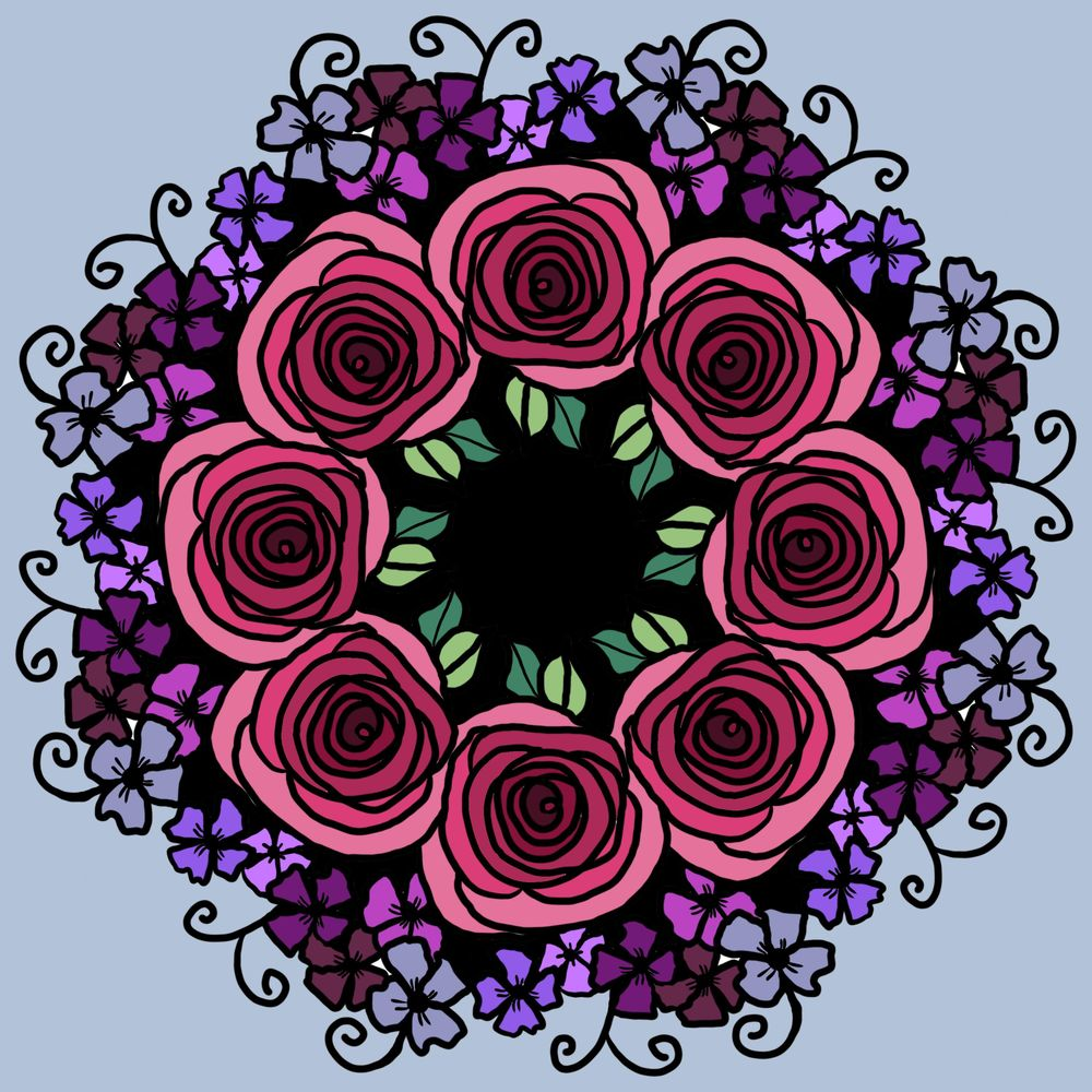 Floral Symmetry! - image 1 - student project