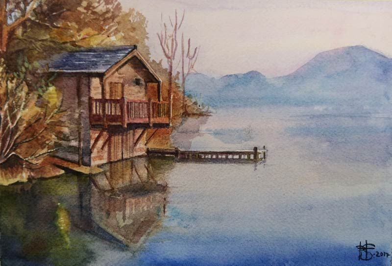 Lake house - image 4 - student project