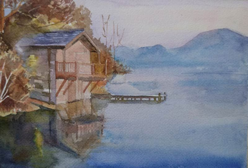 Lake house - image 2 - student project