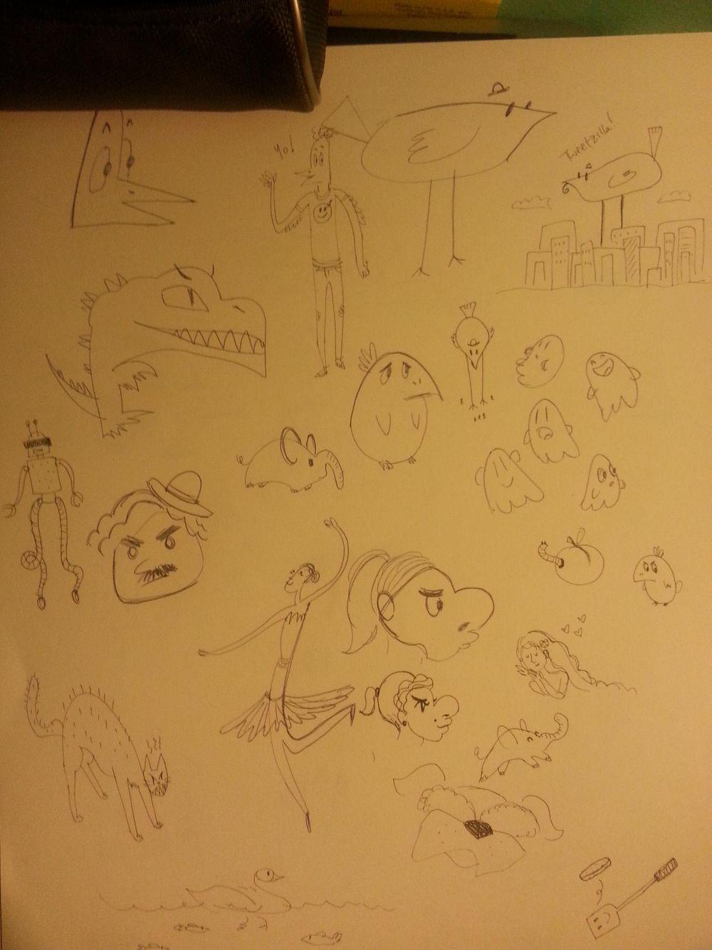 Doodle Quest - image 1 - student project
