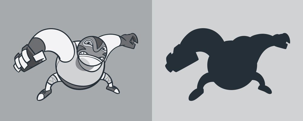 "Shape ""Fantasy"" Character: Grey Deamon Jr. - image 3 - student project"