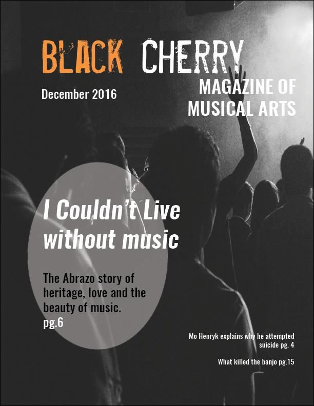 the BLACK CHERRY: my first attempt at a Magazine Spread - image 1 - student project