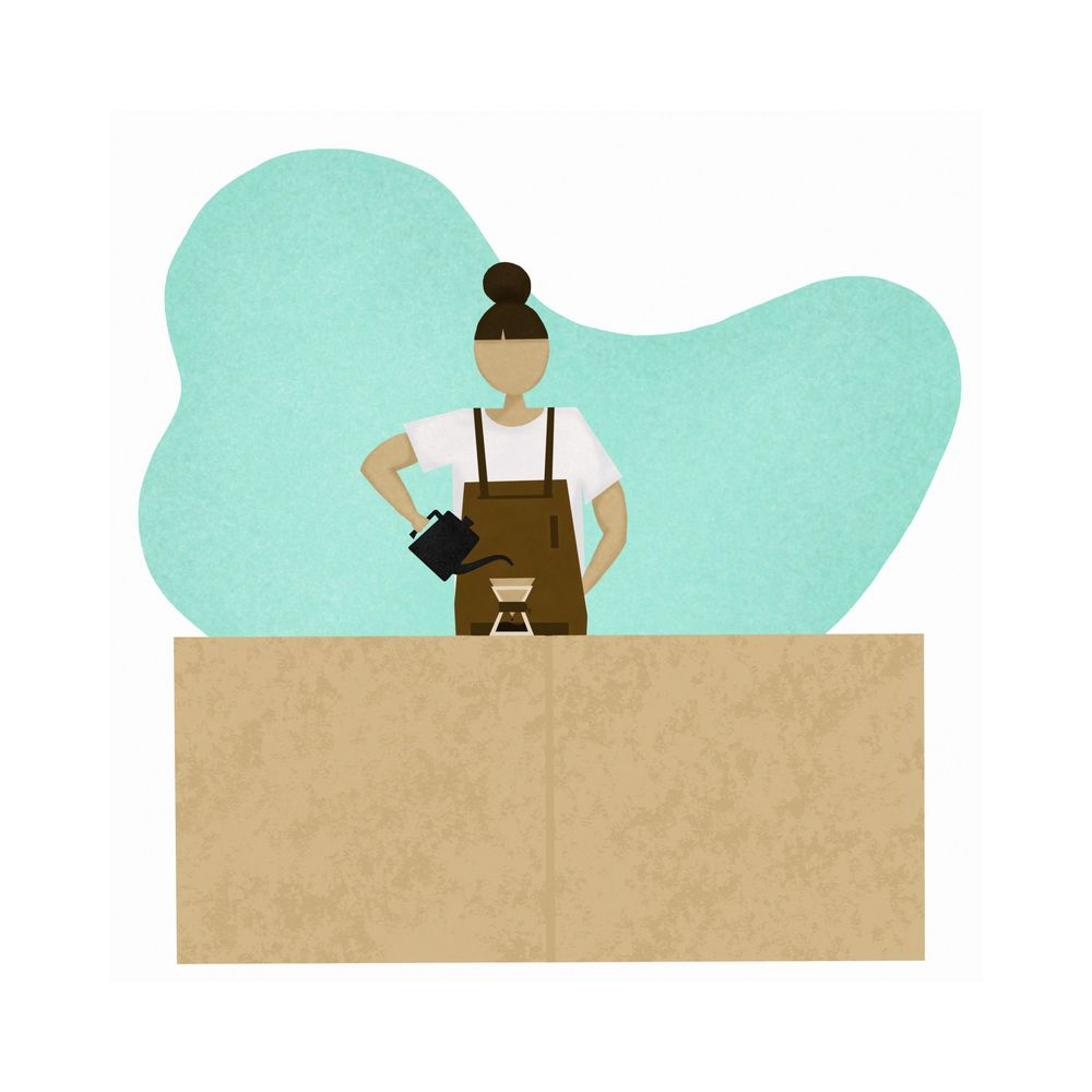 Coffee Girl - image 1 - student project