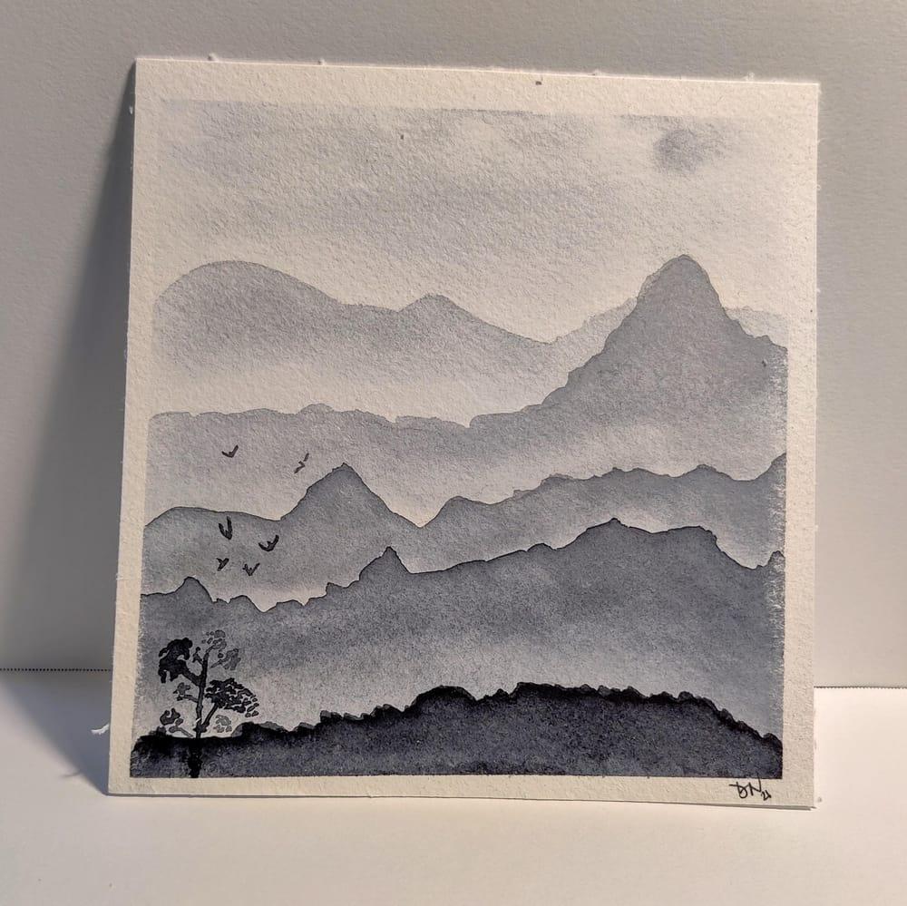 Dawn's Monochrome Landscapes - image 3 - student project