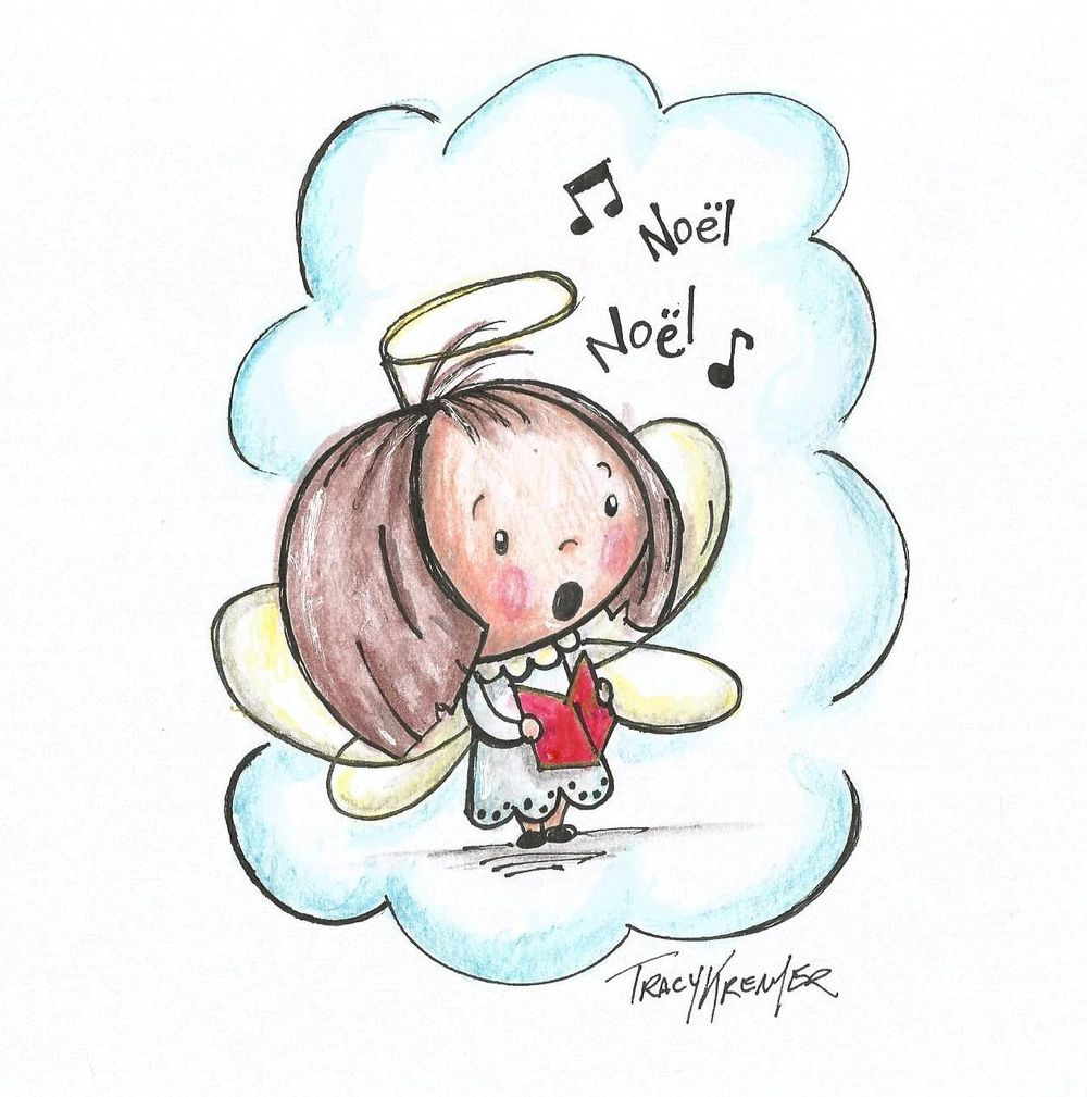 Cute little choir girl - image 1 - student project
