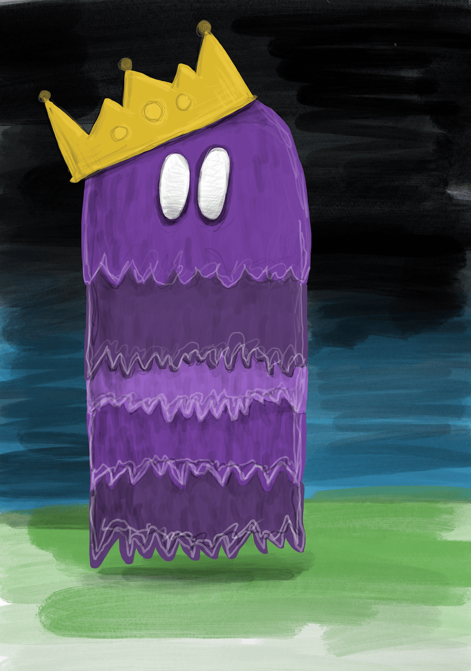 Ghost monster - image 1 - student project