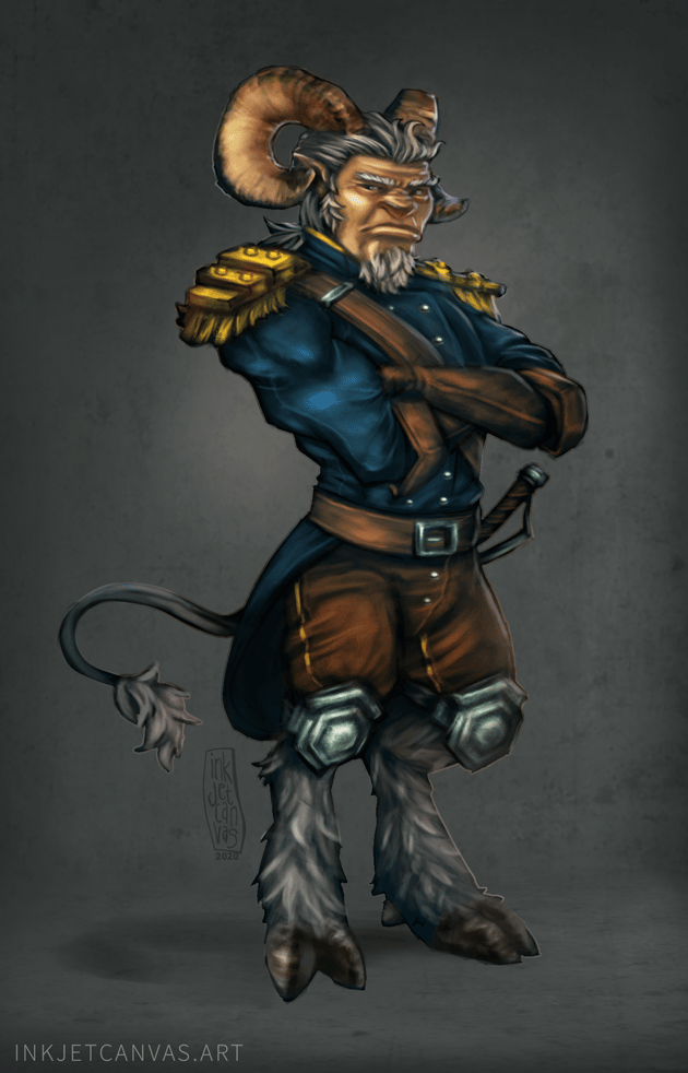 Ignatus, the Airship Admiral [critique welcomed] - image 1 - student project