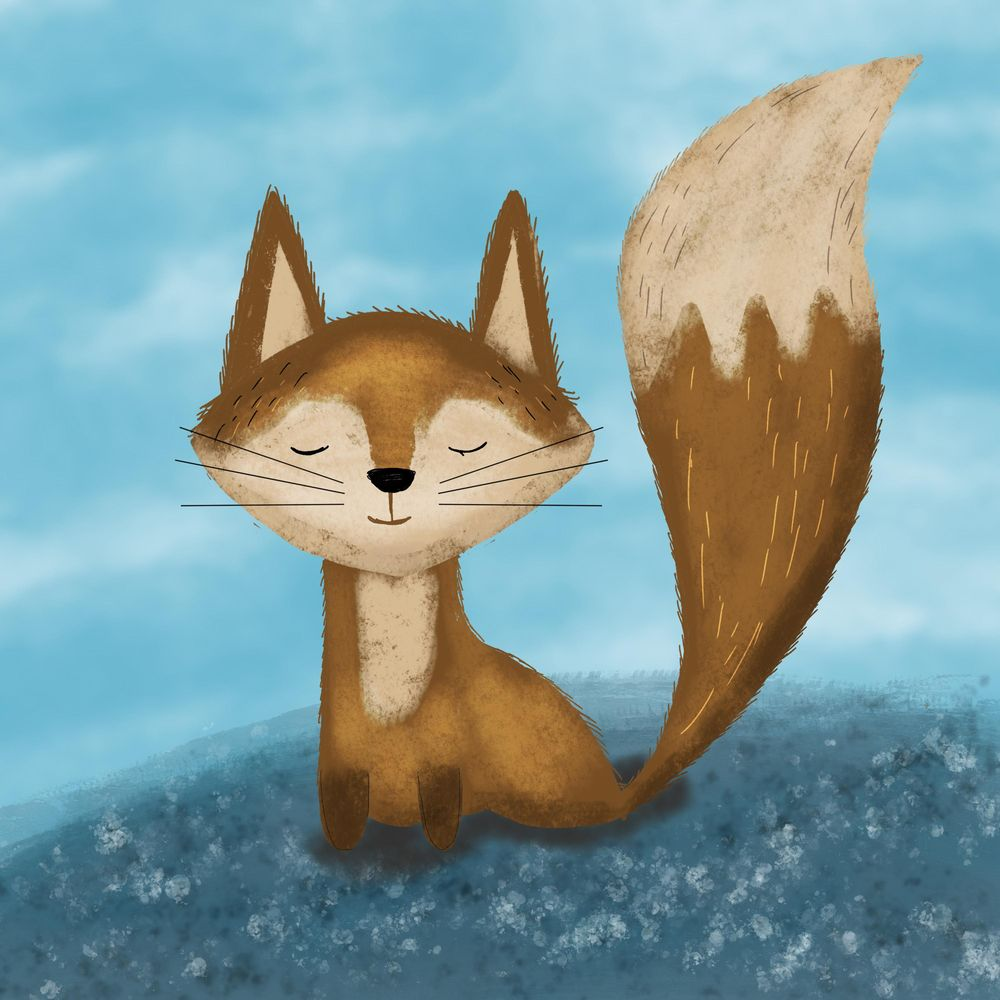 Cute Fox - image 1 - student project