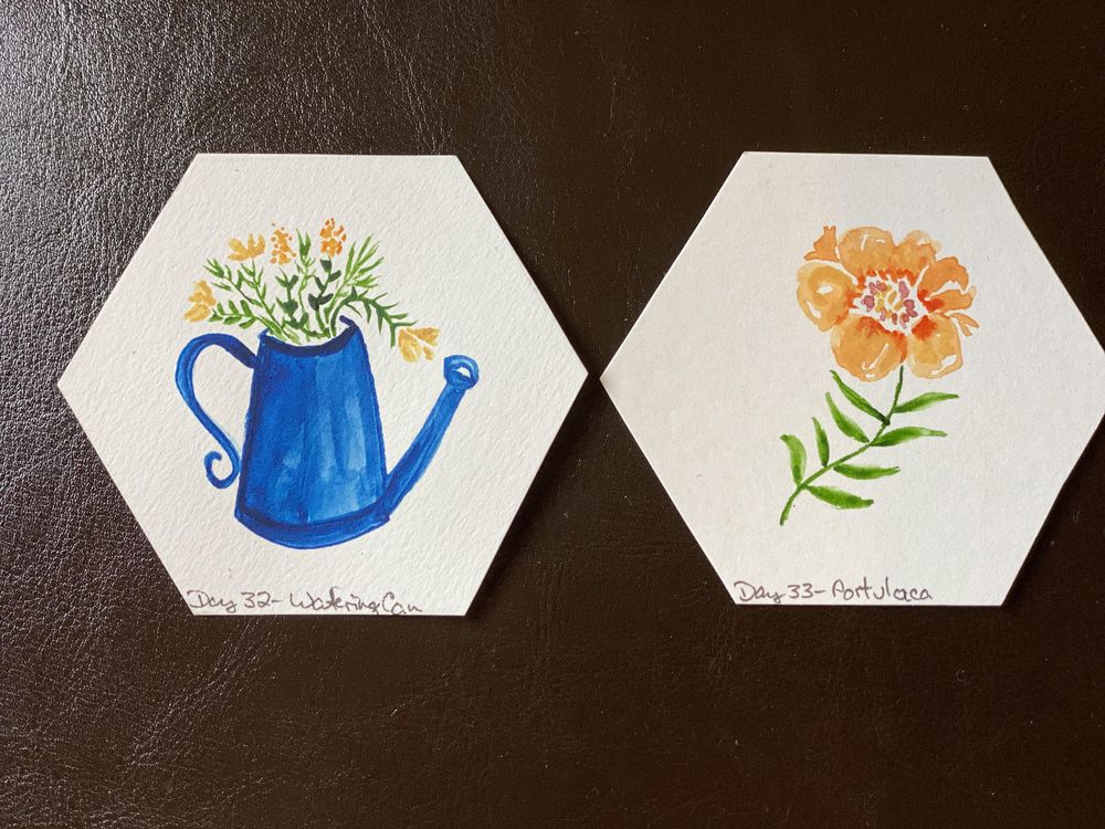 100 Day Watercolor Challenge - image 12 - student project
