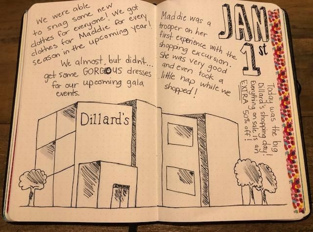 Dillard's shopping day - image 1 - student project