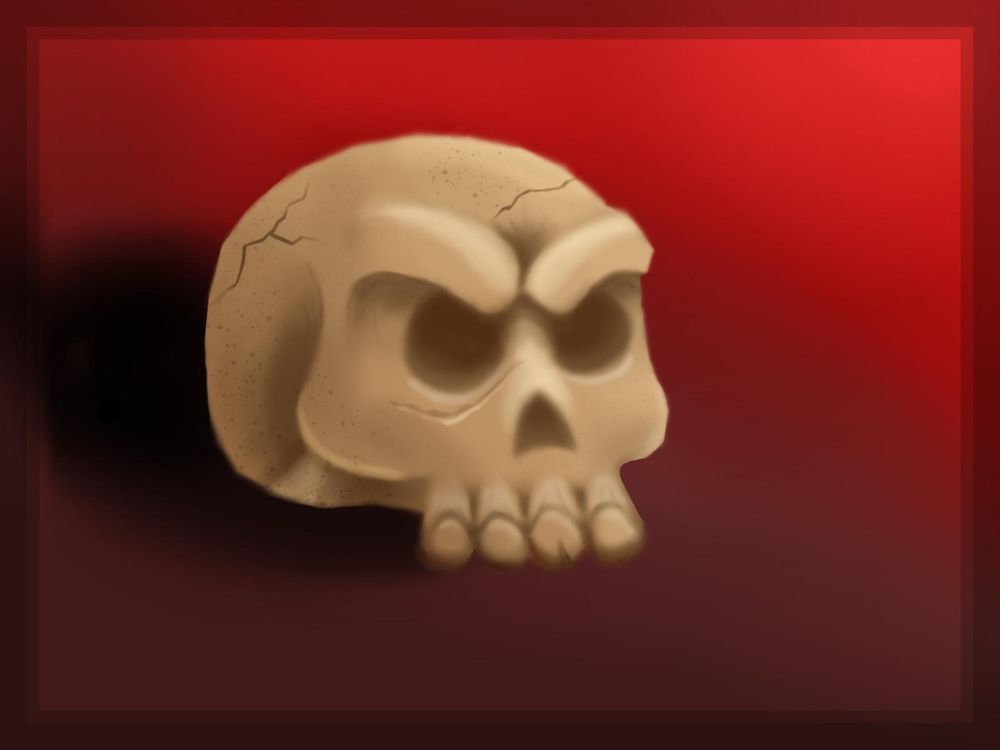 skull and tree - image 3 - student project