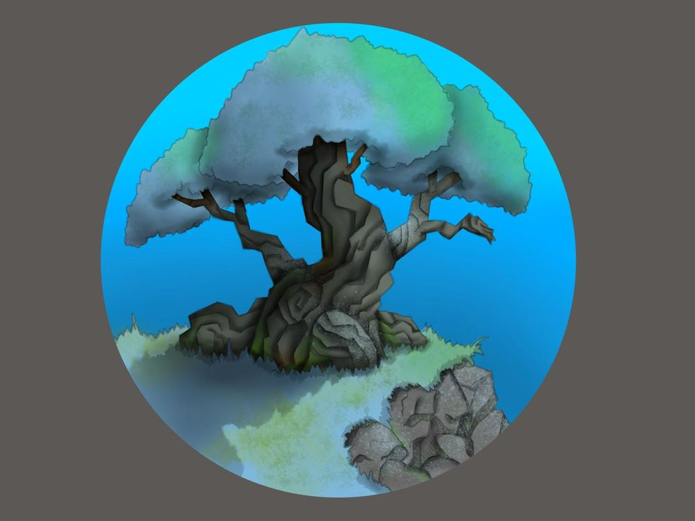 skull and tree - image 2 - student project