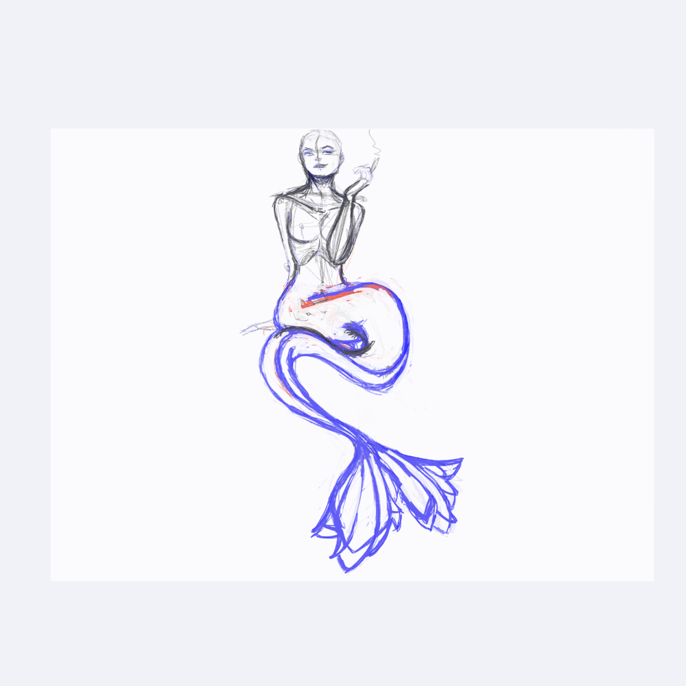 Extravagant Mermaid - image 2 - student project