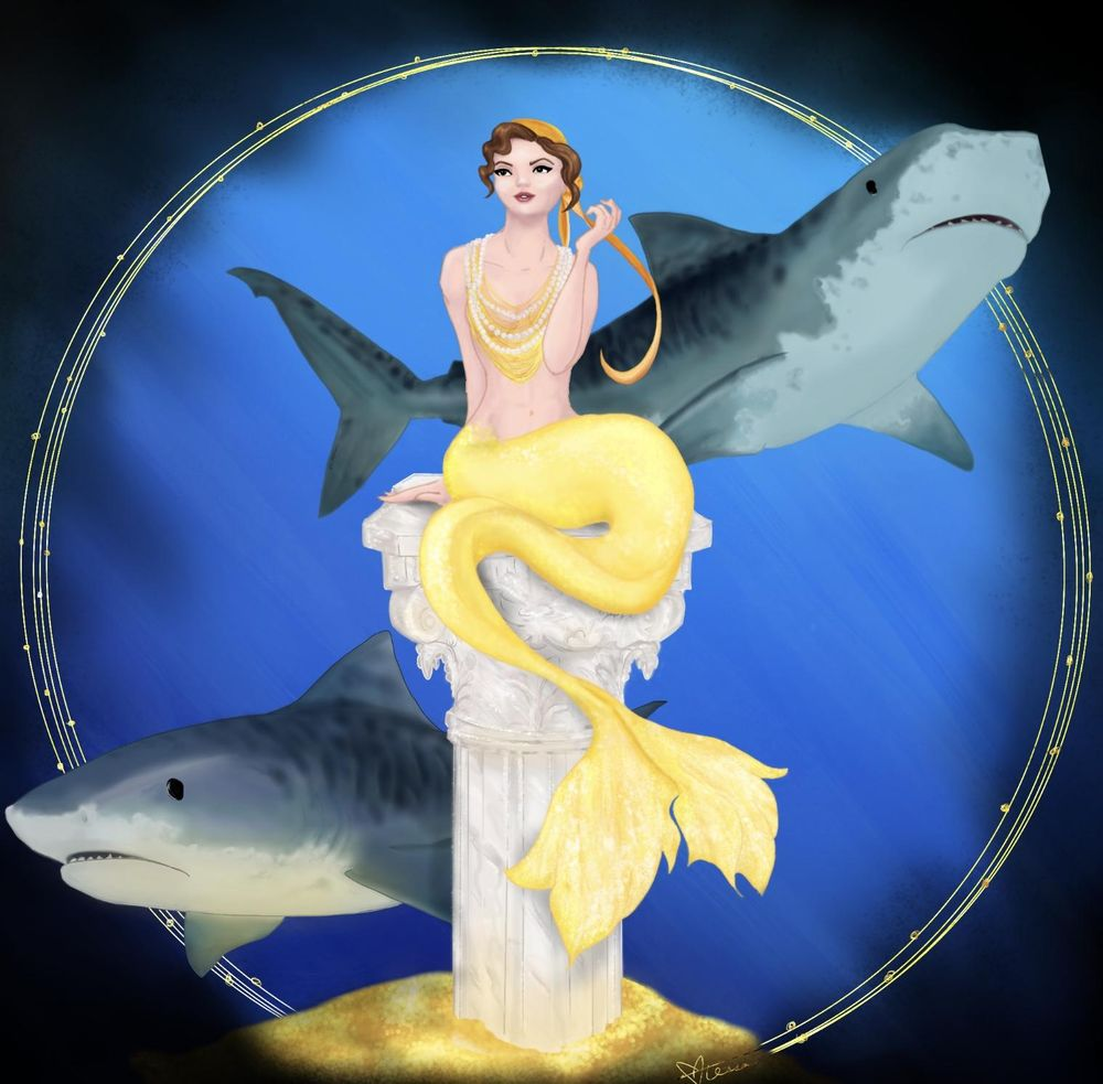 Extravagant Mermaid - image 1 - student project