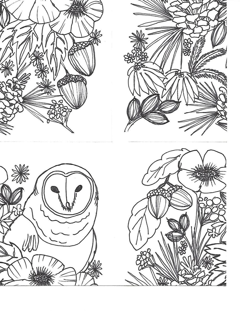 Owl Pattern - image 1 - student project