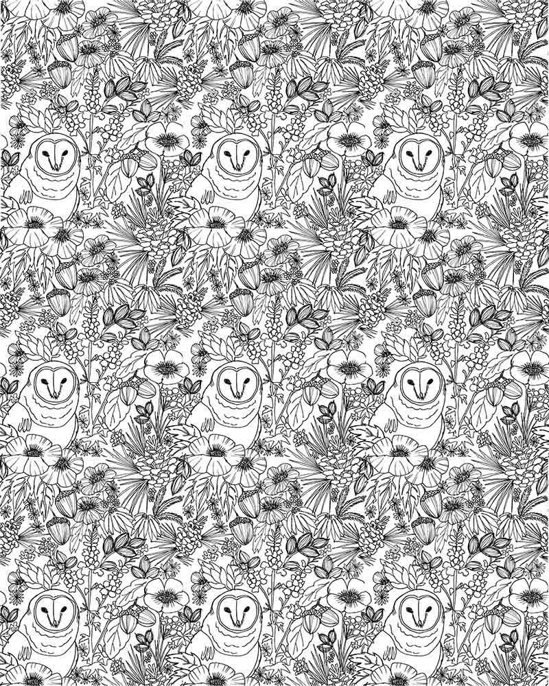 Owl Pattern - image 3 - student project