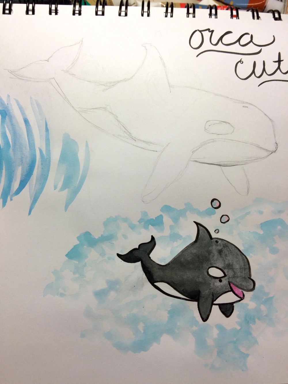 Guinea Pig & Killer Whale Cuties - image 2 - student project