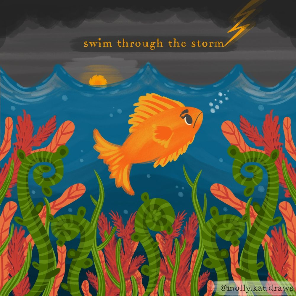 Bees and fishes - image 2 - student project