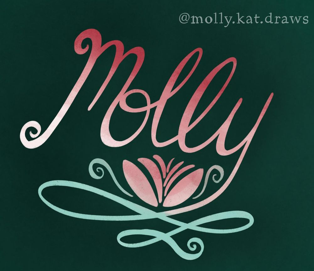 Molly's Lettering Practice - image 2 - student project