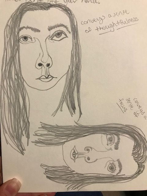 Self Portrait Exercises - image 1 - student project