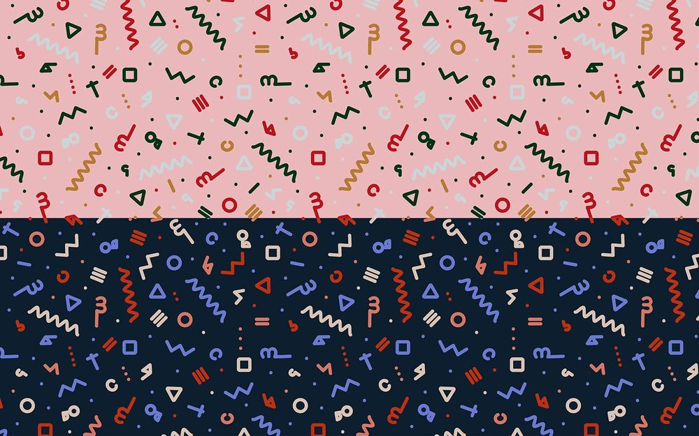 Repeatable Seamless Abstract Patterns - image 5 - student project