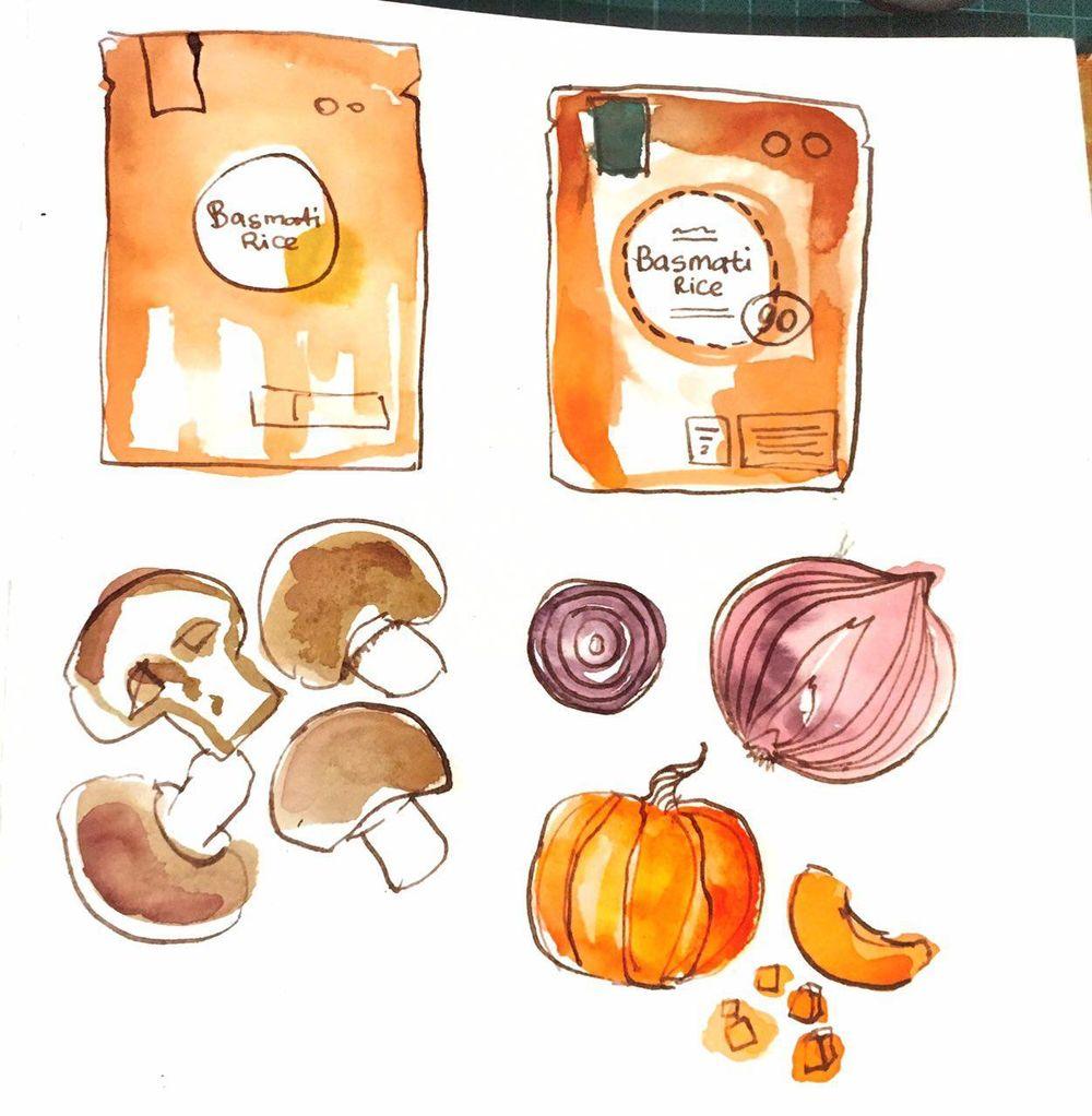 sketchbook practice - image 4 - student project