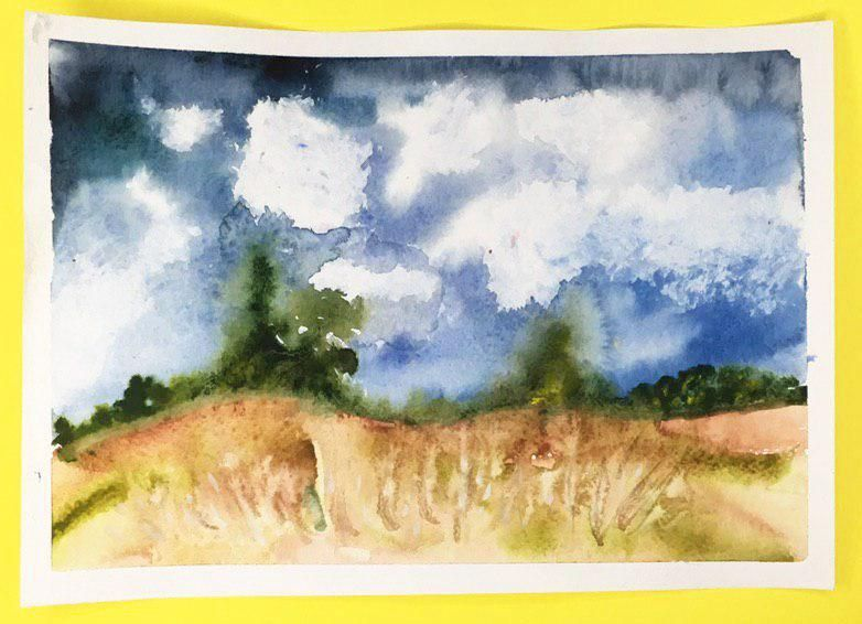Watercolor Secrets: Seven Tips to Level-Up your Art - image 4 - student project