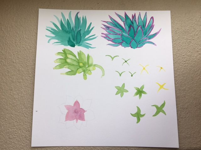 Workshop #2 :  Illustrate from Photos & Paintings: Design 4 Patterns in 3 Weeks - image 7 - student project