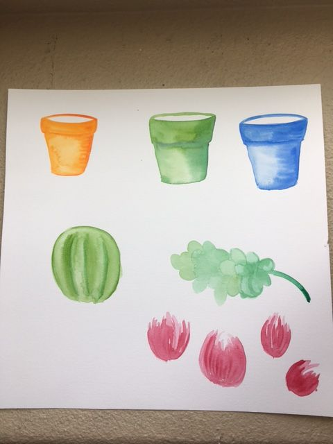 Workshop #2 :  Illustrate from Photos & Paintings: Design 4 Patterns in 3 Weeks - image 9 - student project