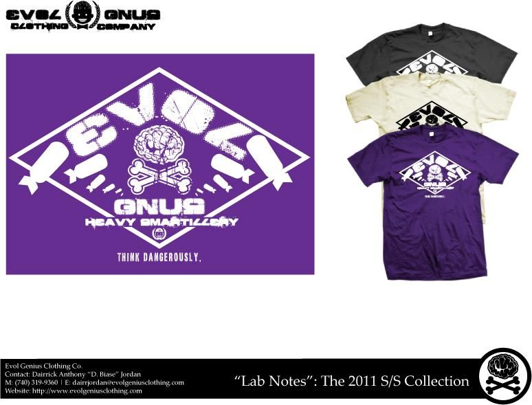 Evol Gnus Clothing Co. - image 3 - student project