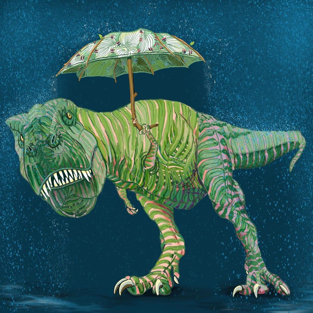 Dinoflora - image 1 - student project