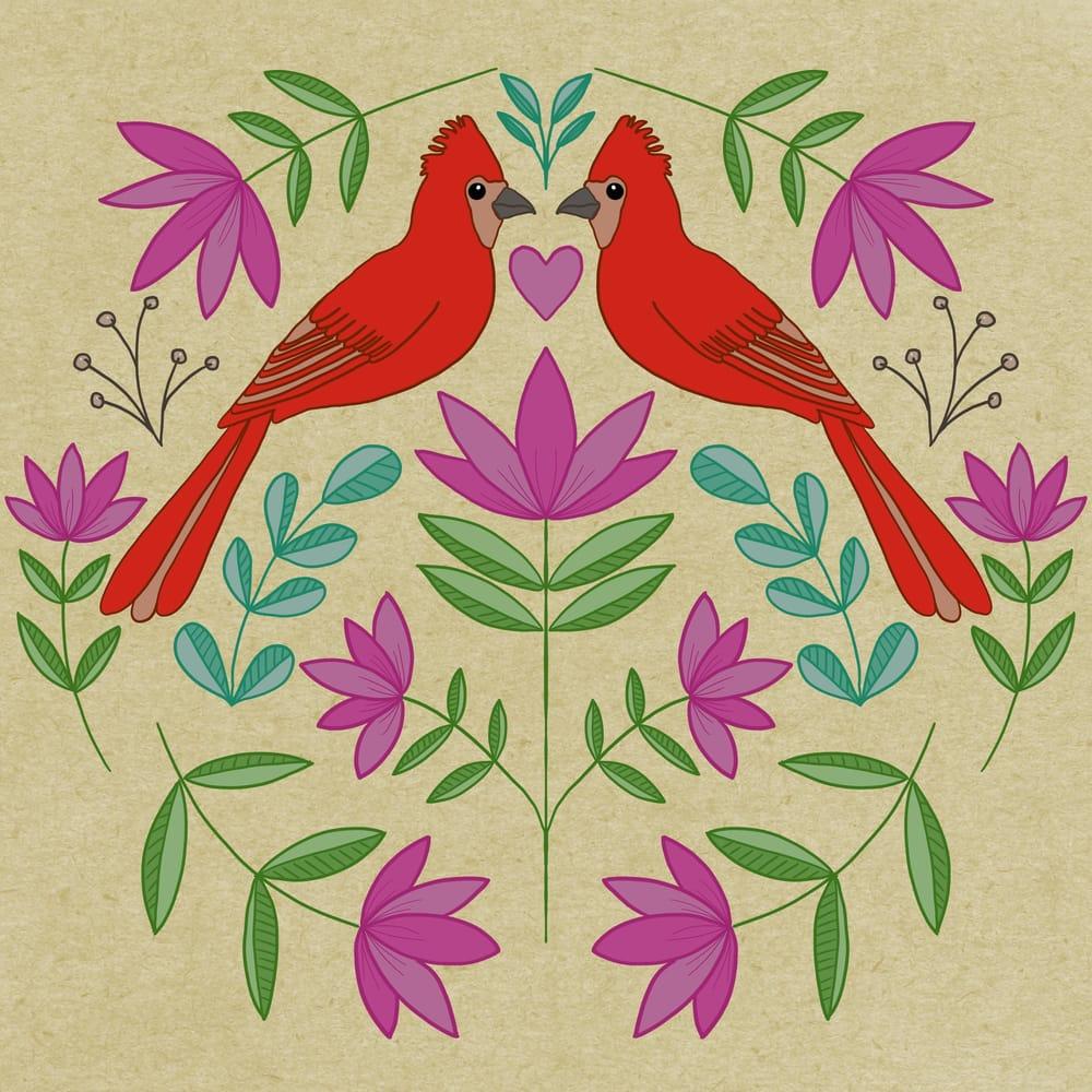 Folk Illustrations - image 3 - student project