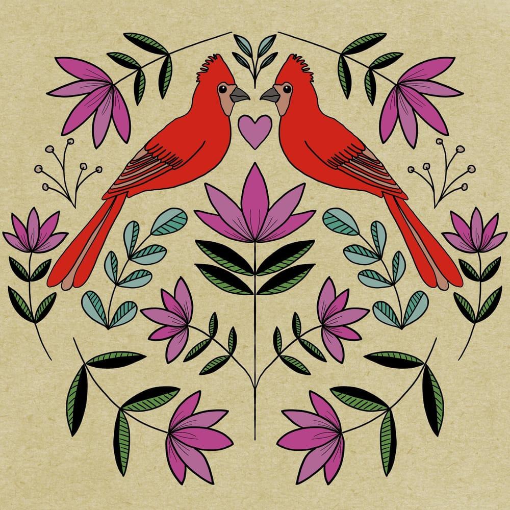 Folk Illustrations - image 4 - student project