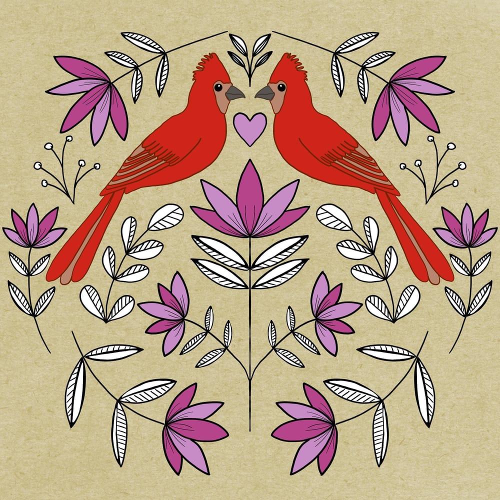 Folk Illustrations - image 5 - student project