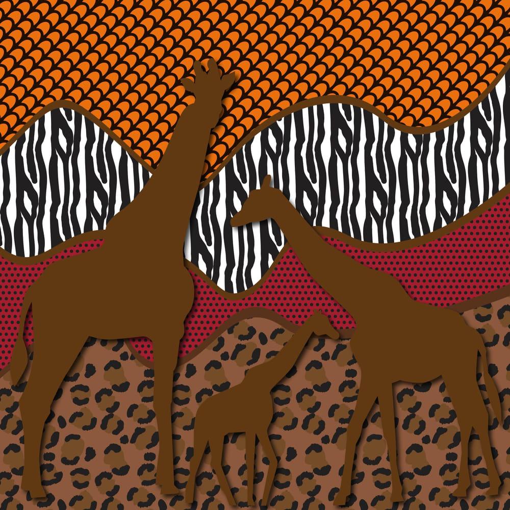 Safari Patterns - image 1 - student project