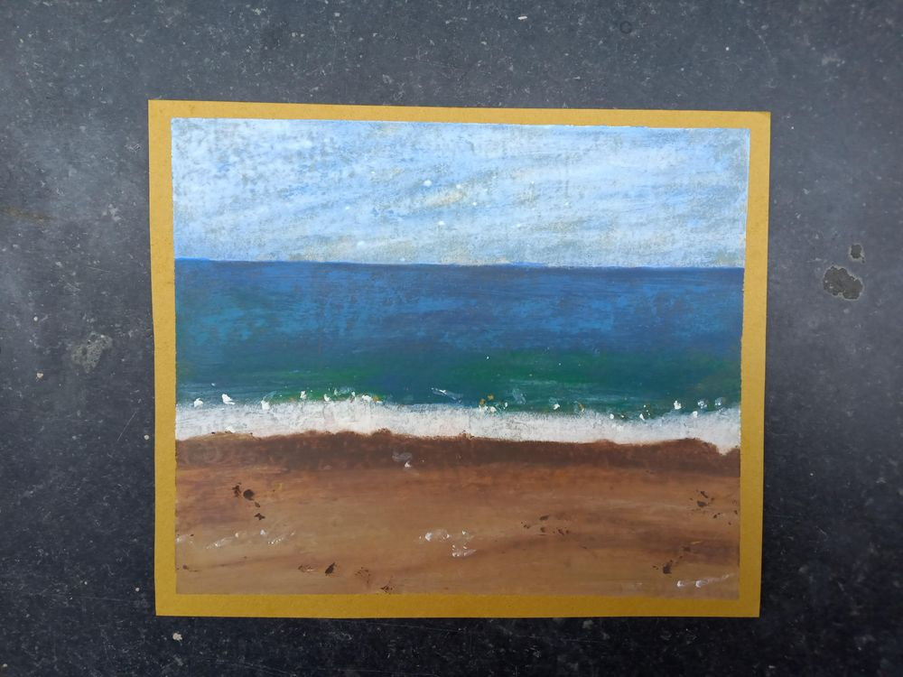 My first try with Oil Pastels - image 1 - student project