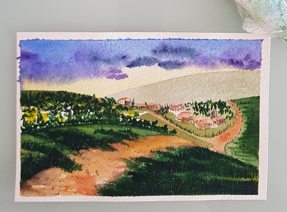 Tuscan Lanscape - image 1 - student project
