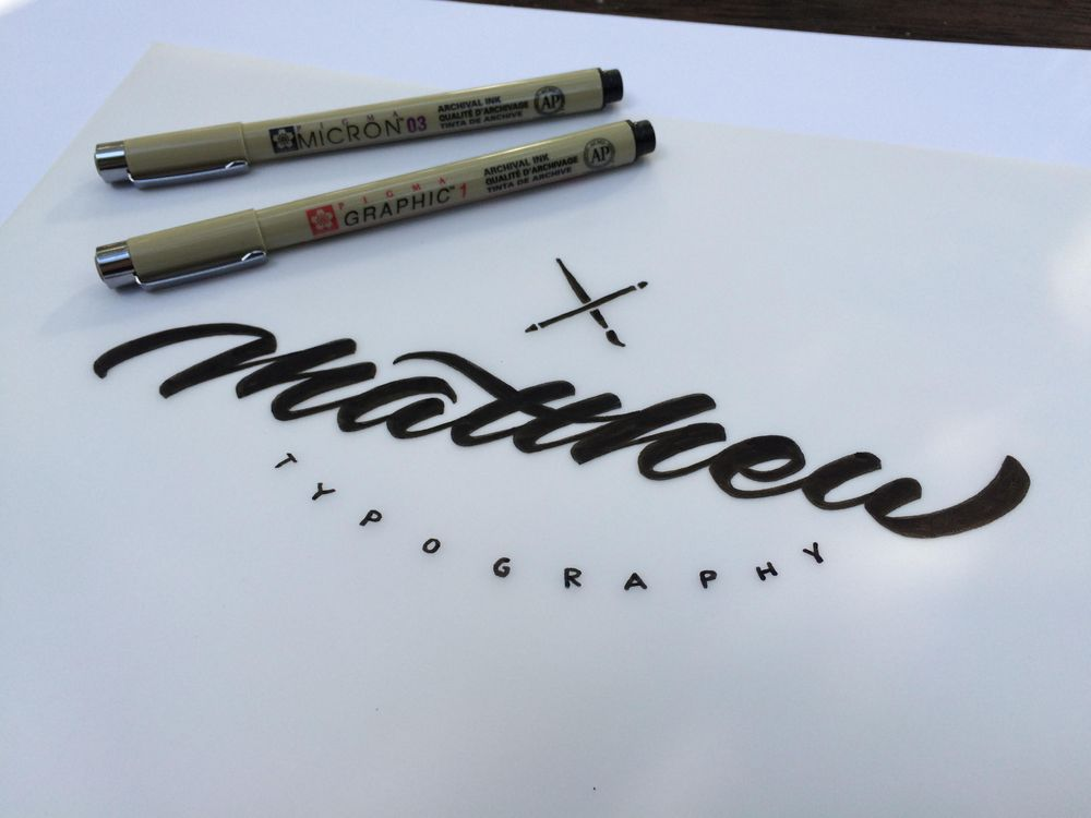 Sample Project: My first name as a signature logo - image 8 - student project
