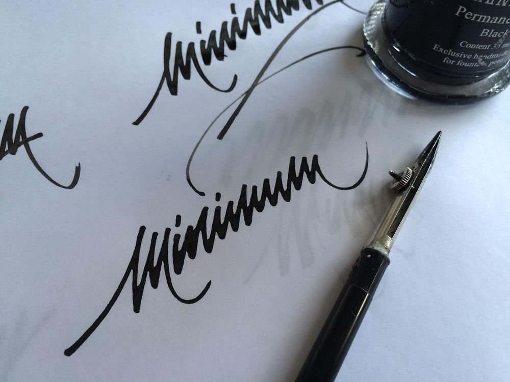 Sample Project: My first name as a signature logo - image 1 - student project