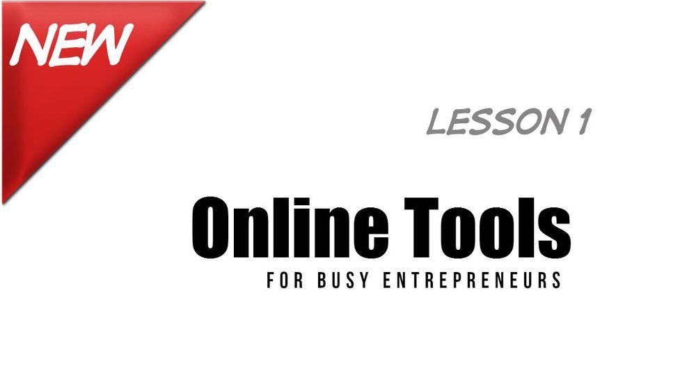 PUBLISHED - Three Month Channel Challenge: Project 3 - Online Tools for Busy Entrepreneurs (2) - image 3 - student project